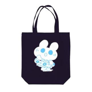水着うさぎ Tote bags