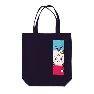 司書のしおりさん Tote bags