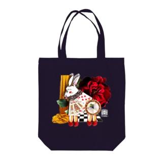 白兎と赤い靴1 Tote bags