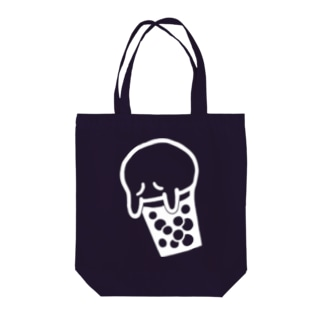 NiSchの「10+」Beer Ghost くん Tote bags
