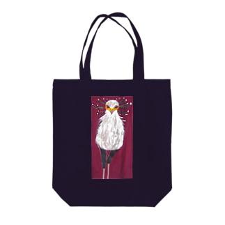 ヘビクイワシ Tote bags