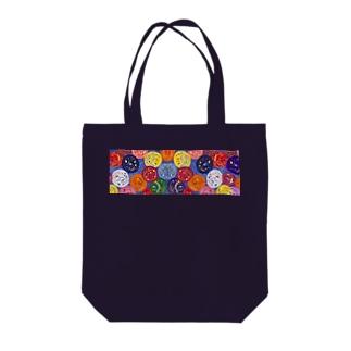 ヨーヨーつり Tote bags