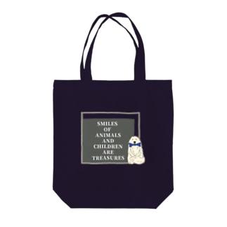 グレートピレニーズ×SLOGAN Tote bags