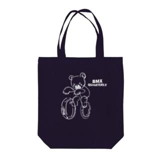 クマのBMX Tote bags