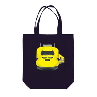 ドクターイエロー Tote bags