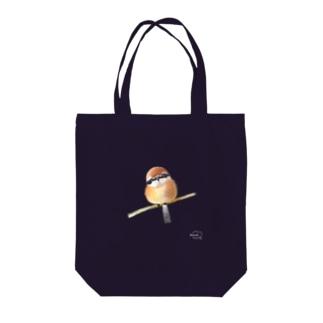 DOTEKKOの-MOZU No.2- Bird call  Tote bags