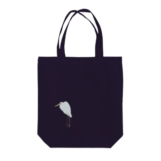 鷺(さぎ) Tote bags