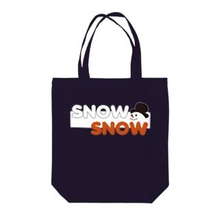 スノースノー Tote bags