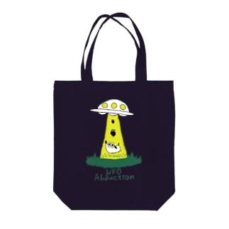 UFOつれさり Tote bags