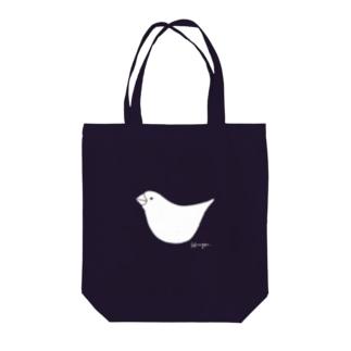 文鳥さん Tote bags