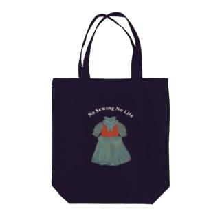 HANONの騒がしい風ドレス Tote bags