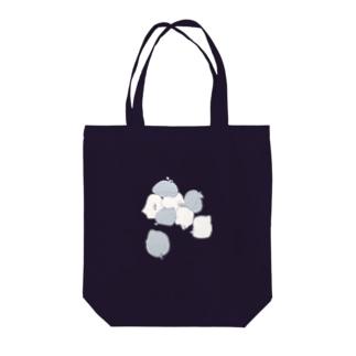 積まれたごみ袋 Tote bags