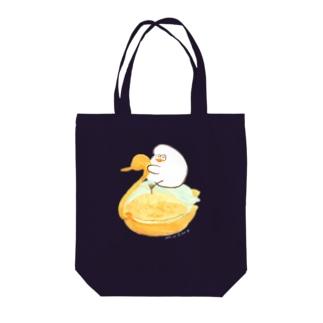 スワンシュークリーム Tote bags