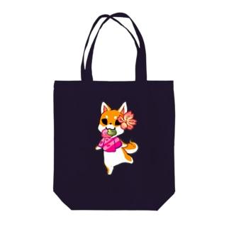 さくら柴犬 Tote bags