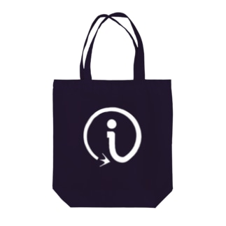 interact i_WHITE Tote bags