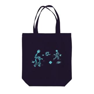 庭球蛙水色 Tote bags