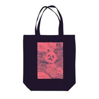 邪神パンダさん Tote bags