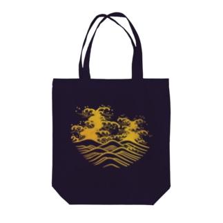 波(Wave) Tote bags