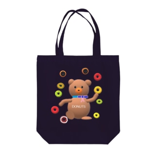あるてみらのクマちゃんとドーナツ🍩 Tote bags