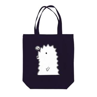 【寿梨ちゃん愛用】『半じゅジラ』トートバッグ カラー選択可能 トートバッグ