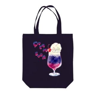 スカルクリームソーダ Tote Bag