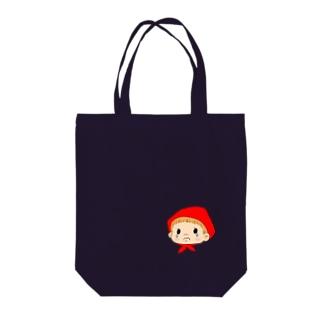 ベビーガール(ぐずり) Tote bags