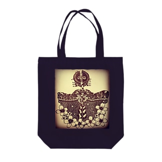 切り絵*揚巻 Tote bags
