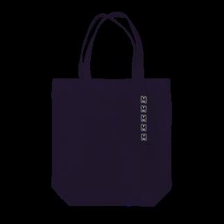 hnagaminのユニクロのサイズのシール Tote bags