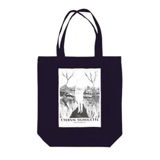 エターナルシルエット Tote bags