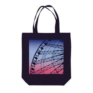 🎡4時の遊園地🎡 Tote bags