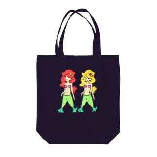 マリンず(どこでもいっしょ) Tote bags