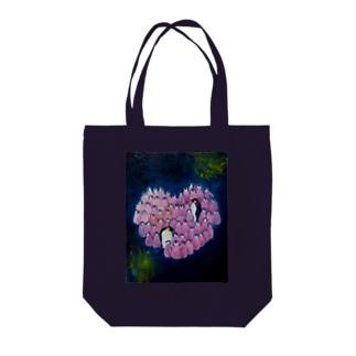 宇宙☆Babys Tote bags