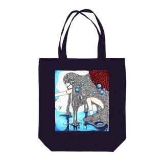 Aquarius Tote bags