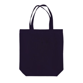 黒いマントの女の子【線画】 トートバッグ
