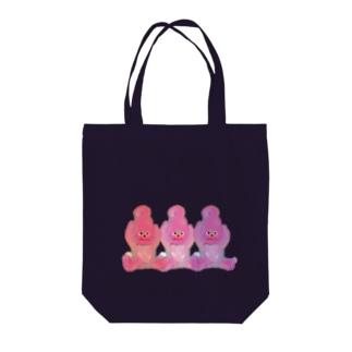 ソフトちゃん Tote bags