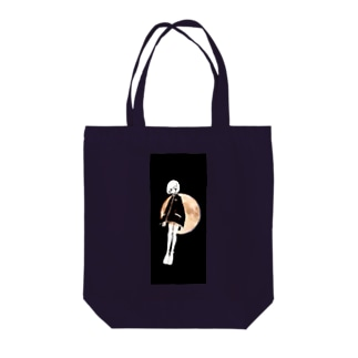 スーパームーン Tote bags