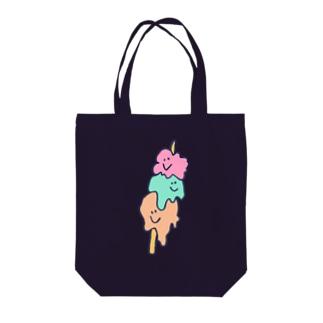 串刺しあいすちゃん Tote bags