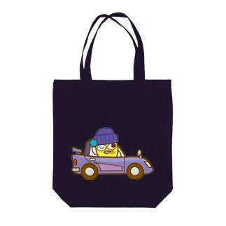 ハエヌキくんのオールドスポーツカー Tote bags