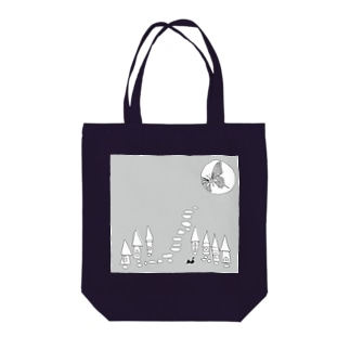こちょうのゆめグレー Tote bags