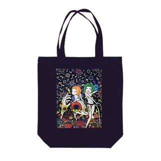 お星様と女子。 Tote bags