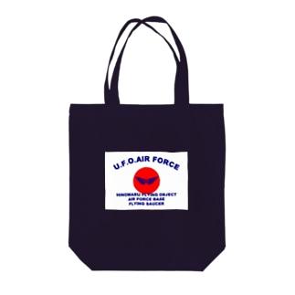 ユーフォーエアフォース Tote bags