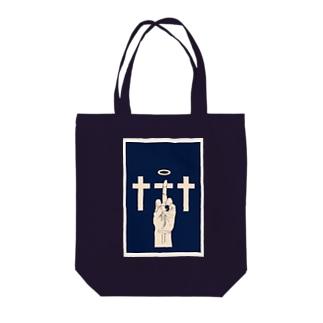 十字架 Tote bags