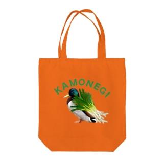 カモネギなトートバッグ Tote bags