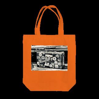 NAOKI1220のLiberオリジナル❤︎スーツケースデザイン Tote bags