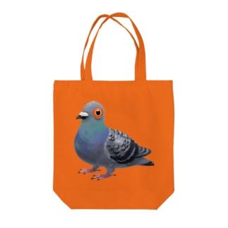 あなたの心に鳩 Tote bags