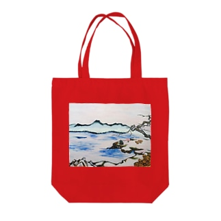 過去の中の影に - 内海と狩野派: In The Shadow Of The Past - Utsumi And Kano School Tote bags