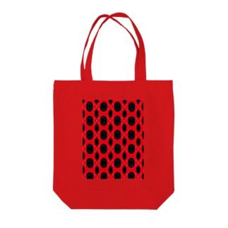 赤黒days Tote bags