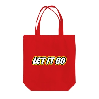 LET IT GO Tote bags