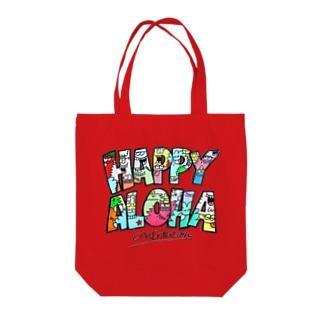 happy aloha トートバッグ