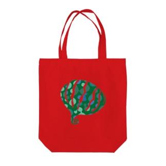 greensxart Tote bags